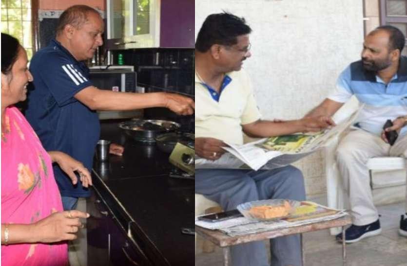 आराम में गुजरा दिन, अर्जुन ने किचन में बटाया हाथ तो रघुवीर ने की चाय पर चर्चा