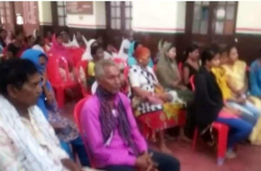 कांग्रेस भवन गांधी मैदान में मजदूर सम्मेलन और सम्मान समारोह