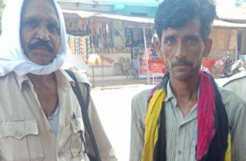 दरवाजा तोड़ चोरी कर लिया था टीवी और चावल, गिरफ्तार होने पर उगले राज