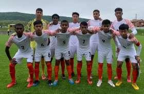 एमयू-15 फुटबॉल : भारत ने स्लोवानिया के साथ 2-2 से ड्रॉ खेला