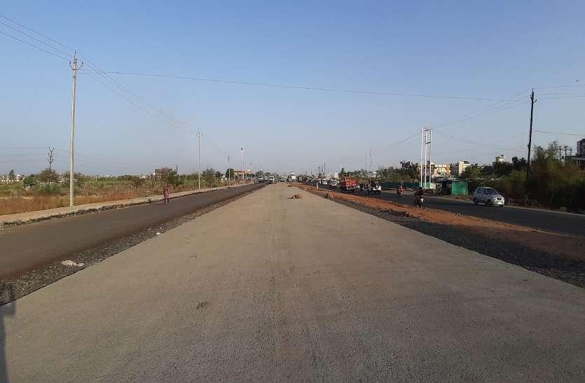 हाईवे सहित 600 करोड़ रुपए से हो रहा सड़कों का निर्माण