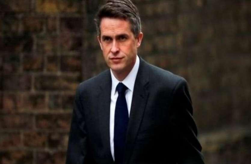 ब्रिटेन के रक्षा मंत्री विलियमसन बर्खास्त, अहम जानकारी लीक करने का आरोप