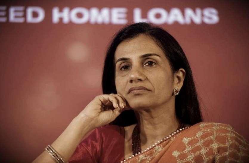 रिजर्व बैंक को गुमराह कर मॉरिशस की कंपनी को 25,40 करोड़ का लोन में फंसी चंदा कोचर