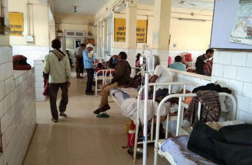 दोपहर में बरसी आग, शाम को धूलभरी आंधी ने किया अस्त व्यस्त, अस्पताल में मरीज बेहाल