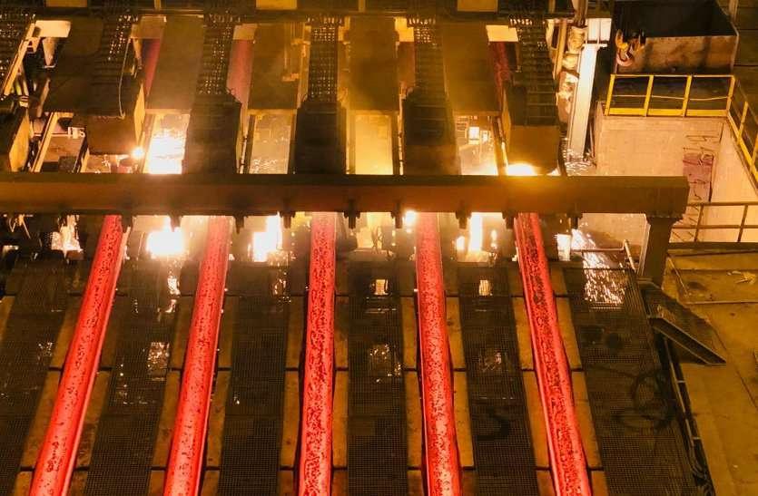 विश्व की सबसे लंबी रेलपटरी बनाने वाले बीएसपी के यूआरएम का हो रहा मेंटनेंस