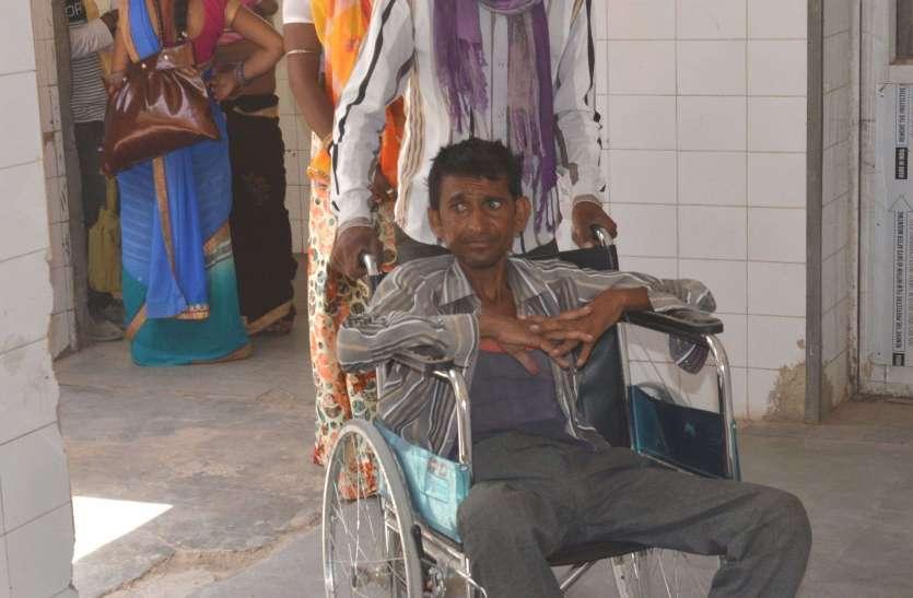 राजस्थान के इस अस्पताल में इतने बुरे हाल