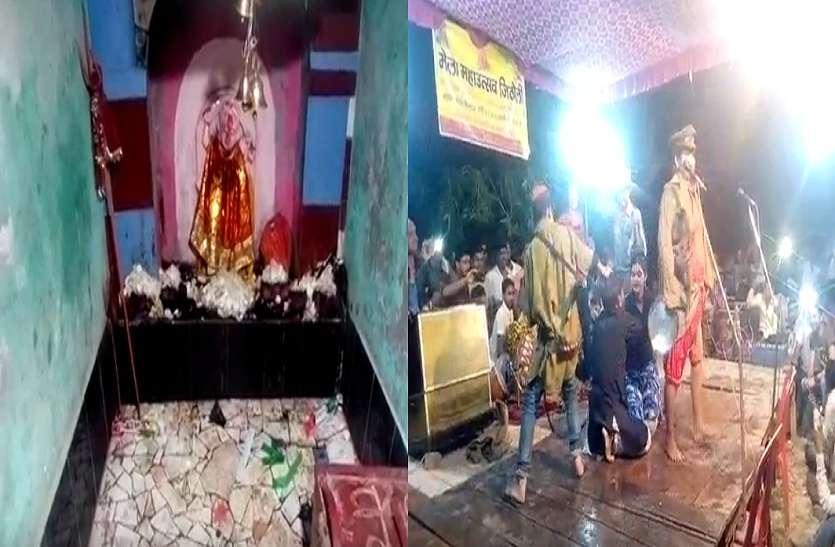 यूपी के इस जिलें के मन्दिर में देवी को खुश करने के लिए हरसाल होती है नगाड़े की अवाज और नौटंकी