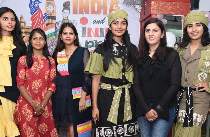 lakme fashion week के लिए क्वालीफाई हुई जोधपुर की संगीता,  INIFD में फैशन शो के साथ हुआ स्वागत, देखें वीडियो