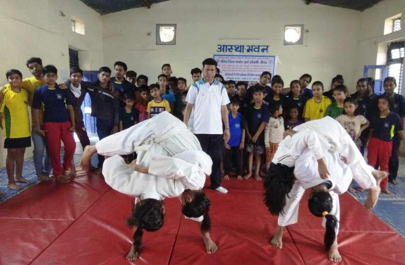 गर्मी की छुटियों में मिली बच्चों को जूडो कराते, ताईक्वांडो सीखने की सौगात
