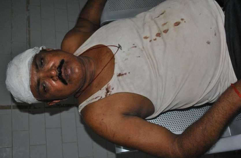 सेना नायक पर हमला कर बदमाशों ने बाइक, मोबाइल व रुपए लूटे