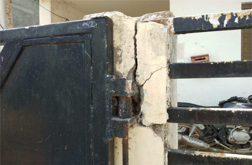 यहां सूने ऑफिस से लॉकर सहित पांच लाख रुपए चोरी कर ले गए चोर