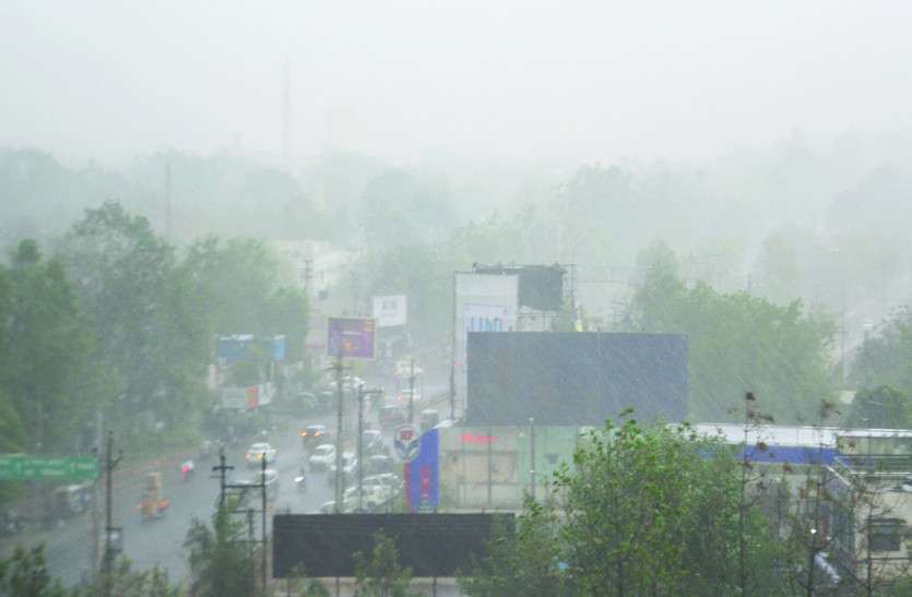छत्तीसगढ़ में फैनी का कहर, आज इन जगहों पर हो सकती है गरज-चमक के साथ बारिश