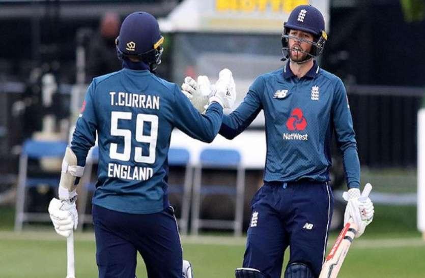 डबलिन वनडेः इंग्लैंड ने आयरलैंड को हराया, जीत में चमके टॉम-प्लंकेट