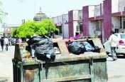 Bharatpur News : आरबीएम अस्पताल में संक्रमण का खतरा, देखें यूं बरत रहे लापरवाही