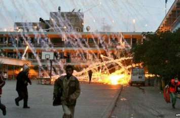 चार फिलिस्तीनियों की मौत के बाद भड़का हमास, इजराइल पर कर दी बमों की बरसात