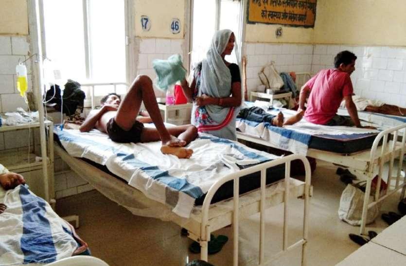 बिजली गुल होने पर जिला अस्पताल में कोई ठोस व्यवस्था नहीं, गर्मी से बिलबिलाए मरीज