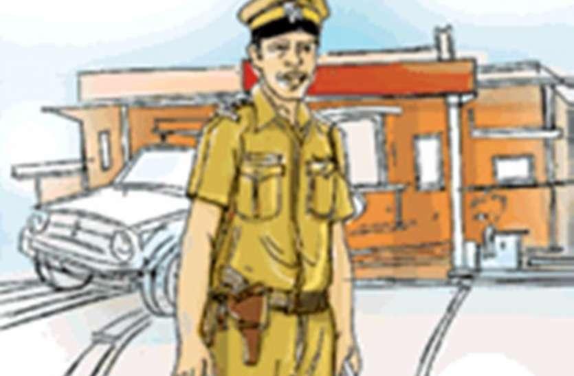 यातायात प्रभारी ने क्यों कि केप्सूल चालक के साथ मारपीट !...पढ़े यहां