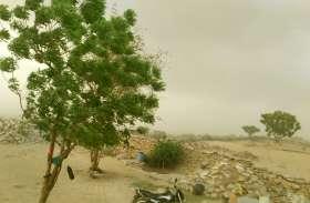 फ़ैनी तूफान असर गांवों में भी आया नजर