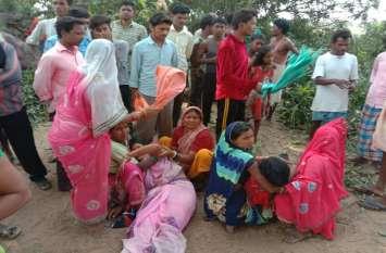 धूप से बचने छांव में बैठे मजदूरों पर कहर बनकर टूटा पेड़, 5 महिला समेत 7 घायल