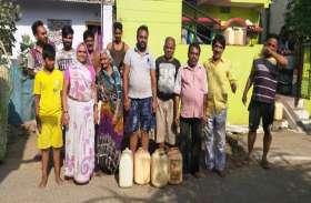 प्रभारी सीएमओ के मोहल्ले में पानी की समस्या, नाले की नहीं हो रही सफाई