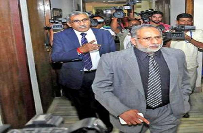 राज्यपाल की मौजूदगी में पीआर रामचंद्र मेनन ने छत्तीसगढ़ के चीफ जस्टिस के पद पर लिया शपथ