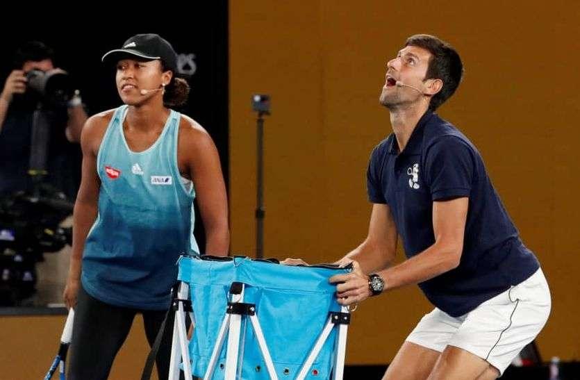 टेनिस रैंकिंग : ओसाका महिलाओं में टॉप पर, पुरुषों में जोकोविक ने बनाया इतिहास