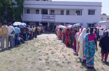 इलेक्शन 2019...रांची, खूंटी, हजारीबाग व कोडरमा में तीन बजे तक 50 फीसदी मतदान