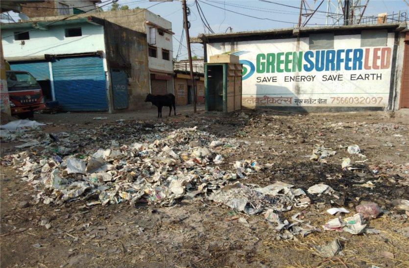 हैदराबाद की कंपनी को दिया गया था सफाई कार्य, नहीं दिख रही सफाई, पढ़े खबर
