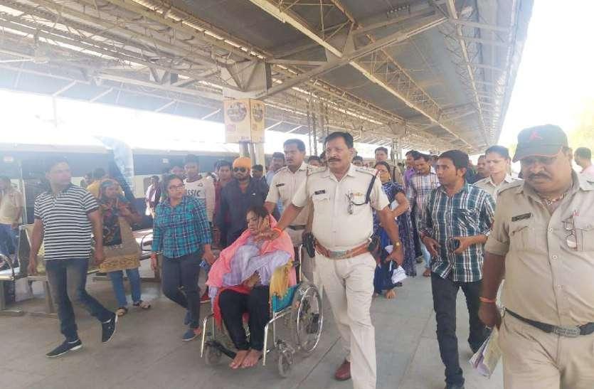जबलपुर-अंबिकापुर इंटरसिटी में महिला पर एसिड अटैक, सात झुलसे, देखें लाइव वीडियो