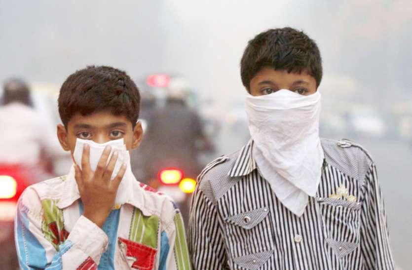 प्रदूषित हवा और वाहनों का धुआं बच्चों को दे रहा दमा