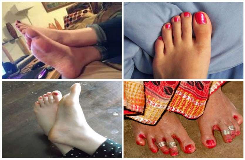 अगर पत्नी के पैर में है इस तरह के निशान तो समझिए...