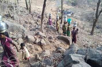 प्रभावित गांवों में टैंकरों से पानी पहुंचाया जाए