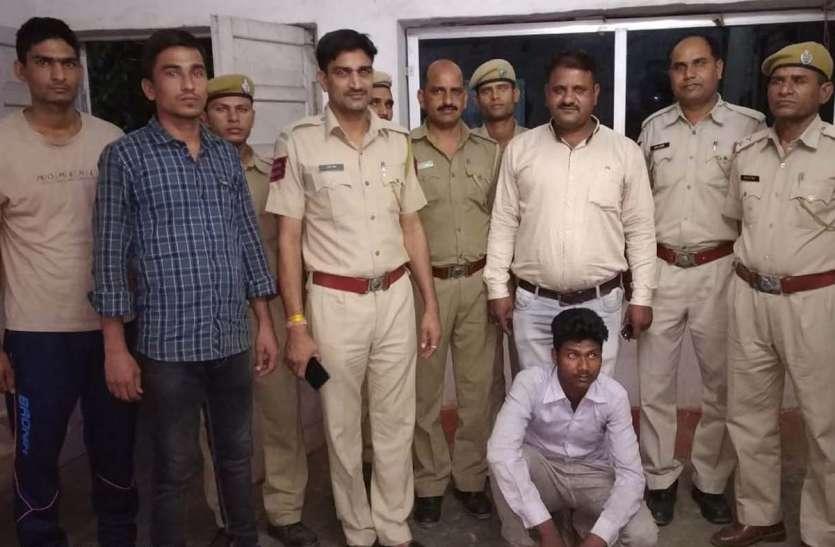 बल्ले के वार से भाई की हत्या का आरोपी गिरफ्तार