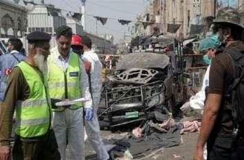 लाहौर ब्लास्ट: पीएम इमरान और राष्ट्रपति अल्वी ने की  विस्फोट की निंदा , सीसीटीवी में कैद हुआ आत्मघाती हमलावर