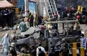 लाहौर की सूफी दरगाह में बम धमाके के बाद तबाही का मंजर, देखें  कुछ तस्वीरें