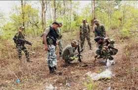 तीन राज्यों के 14-14 लाख रुपए के दो ईनामी नक्सल एरिया कमांडर मुठभेड़ में मारे गए