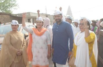 गुंडावाद को जिताना है या फरीदाबाद बचाना है जनता करे तय:जयहिंद