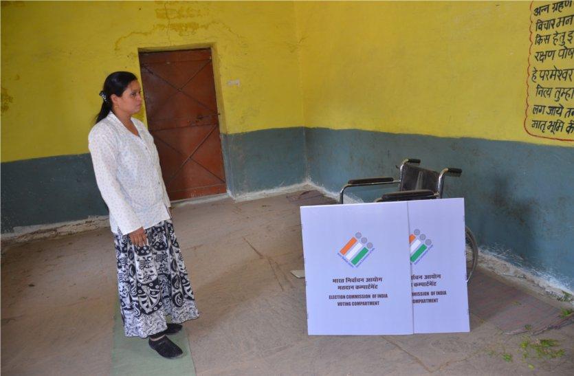 लोकतंत्र के महापर्व पर रविवार को होगा 232 केन्द्रों पर मतदान, केन्द्रों पर की जा रही तैयारियां