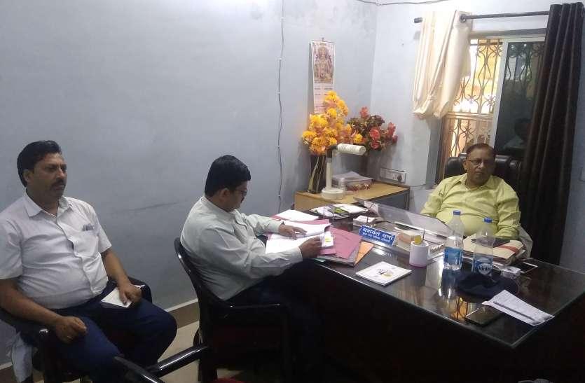 वित्तीय अनियमितताओं में उपसंचालक नगरीय प्रशासन की जांच टीम पहुंची अनूपपुर नगरपालिका