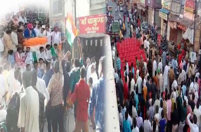 सिद्धू के रोड शो में मोदी-मोदी के नारे, मारने के लिए कुर्सी लेकर दौड़े कांग्रेस कार्यकर्ता