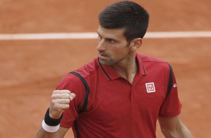 मेड्रिड ओपन टेनिस : जोकोविक को मिला किस्मत का साथ, बिना मुकाबला खेले पहुंचे सेमीफाइनल में