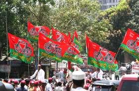 मोदी सरकार में किये गये विकास के काम पर वोट मांग रहे समाजवादी पार्टी के प्रत्याशी