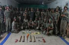 गर्दापाल की पहाडिय़ों में छिपाए थे हथियार और दवाइयां, आईटीबीपी के जवानों ने  खोज निकाला