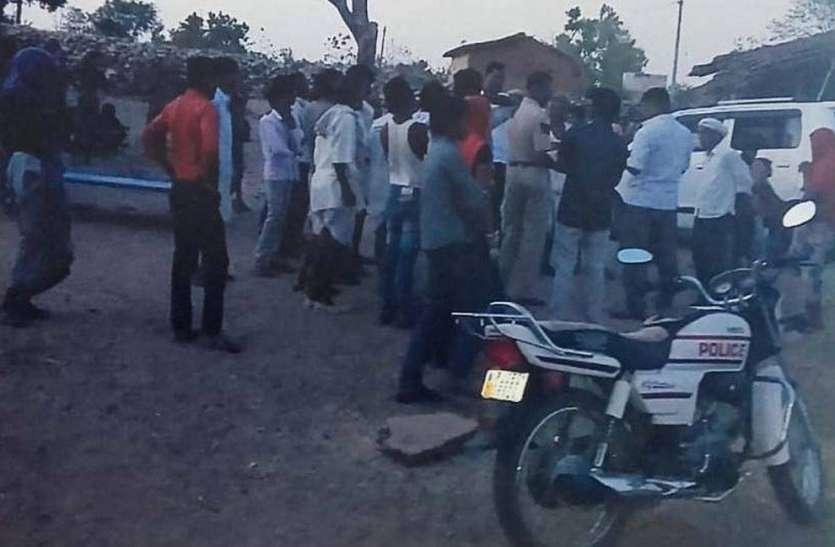 मौताणे को लेकर आगजनी और अपहरण, बचाव में गए पुलिसकर्मियों पर हमला