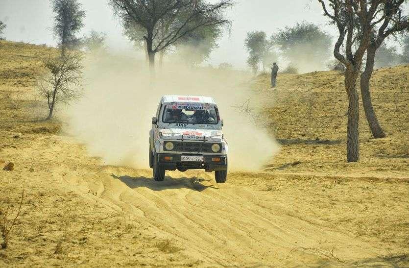 अभिषेक मिश्रा ने डेजर्ट स्टॉर्म रैली पर रखा कब्जा बरकरार, चौथी बार जीता खिताब