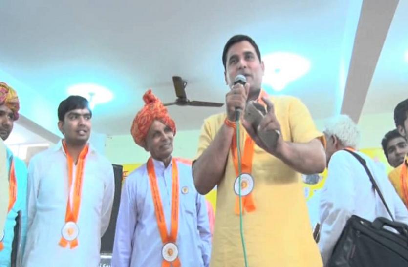 भाजपा के इस विधायक पर चुनावी मौसम में लगा होश उड़ा देने वाला आरोप