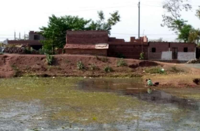 शासकीय जमीन पर असरदारों ने बना लिए मकान, कार्रवाई का खौफ नहीं