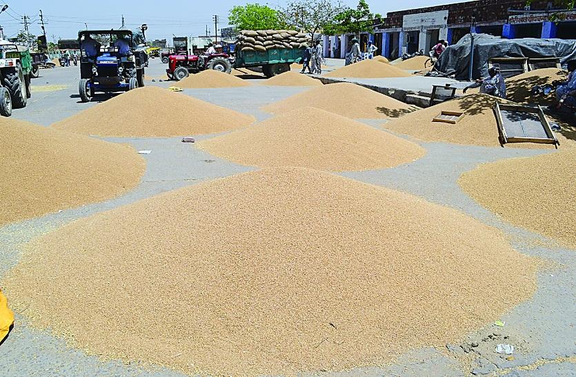 सरकार को नहीं, आढ़तियों को गेहूं बेचकर लाभ ले रहे किसान