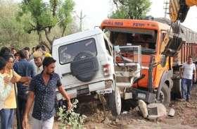 सिरोही में सड़क हादसे में जालोर के दो युवकों ने गंवाई जान