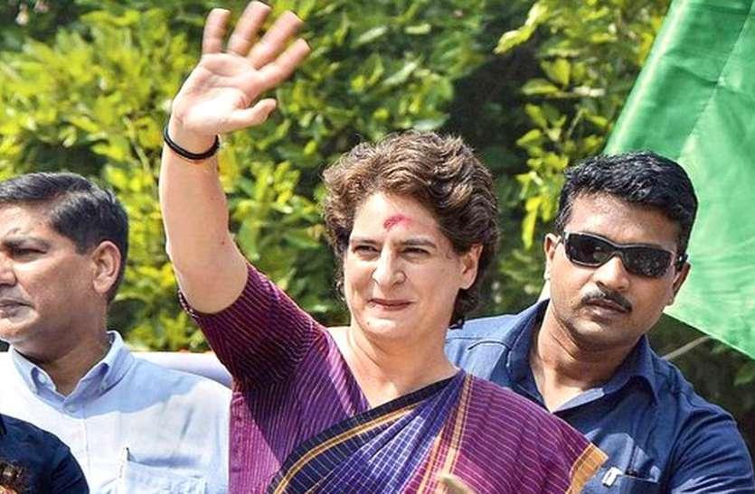 प्रियंका का रोड शो, कांग्रेस ने बनाए थे तीन रूट, एसपीजी ने बदल दिया